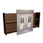 Spiegelschrank für die 3D Raumplanung