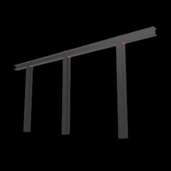 Stahlstützkonstruktion