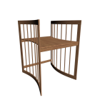 Care Schreibtisch buche für die 3D Raumplanung