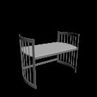 Care Schreibtisch groß grau für die 3D Raumplanung