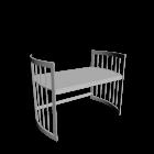 Care Schreibtisch groß weiß für die 3D Raumplanung
