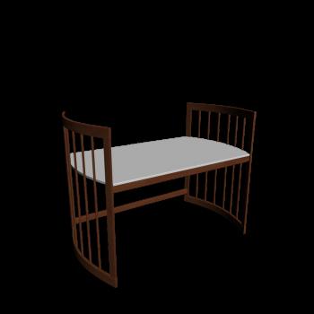 Care Schreibtisch groß Wallnuss von Stokke