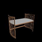 Care Schreibtisch groß buche für die 3D Raumplanung