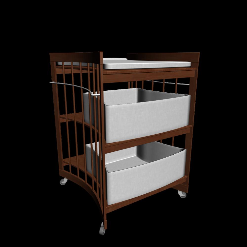 care wickeltisch wallnuss einrichten planen in 3d. Black Bedroom Furniture Sets. Home Design Ideas