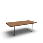 S 1071 table by Thonet