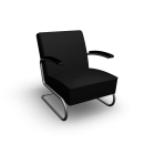 S 411 Armchair for your 3d room design