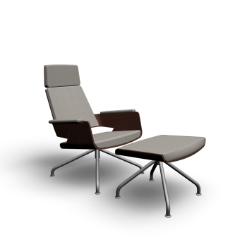 S 850 Sessel + Hocker von Thonet