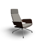 S 850 Armchair for your 3d room design