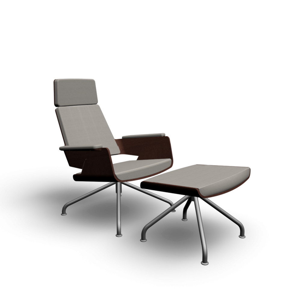 S 850 Armchair Ottoman Design And Decorate Your Room In 3d