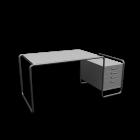S285/1 Schreibtisch für die 3D Raumplanung