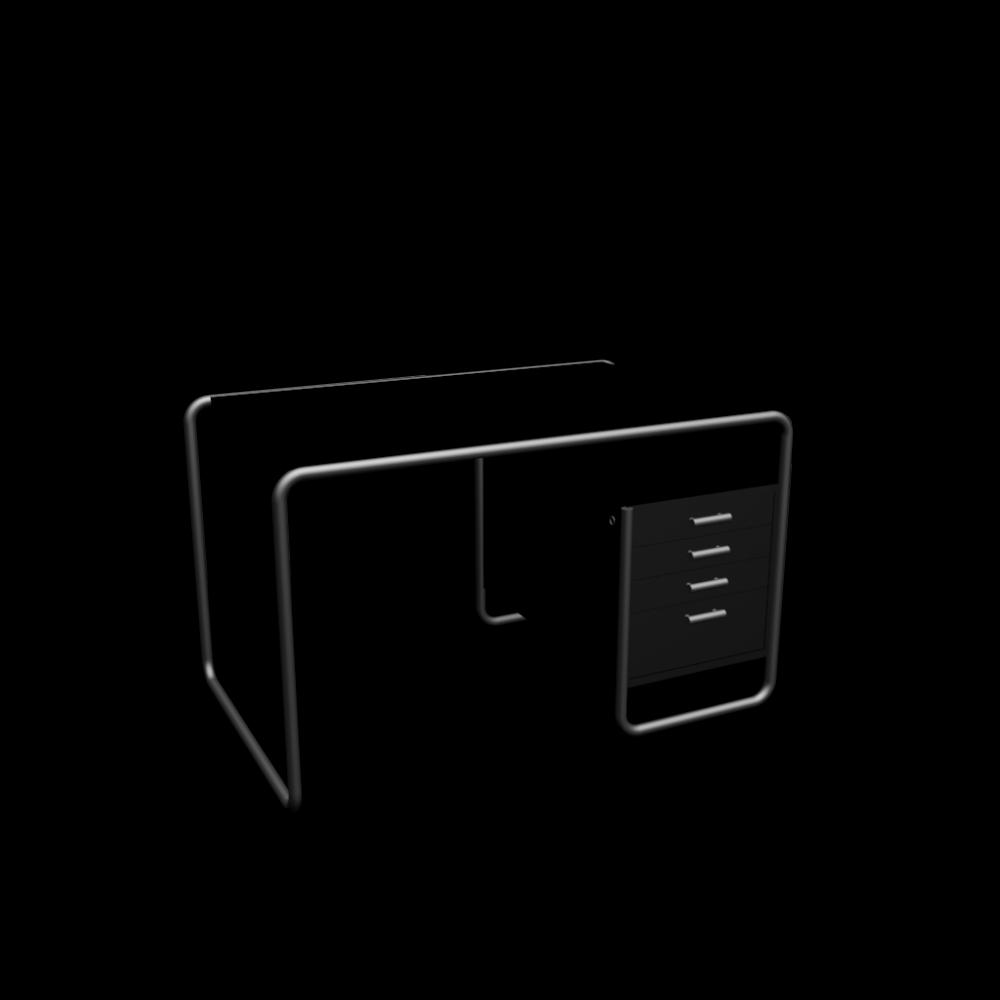 s285 2 schreibtisch einrichten planen in 3d. Black Bedroom Furniture Sets. Home Design Ideas