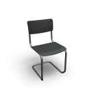 Thonet S 43 cantilever chair by Thonet