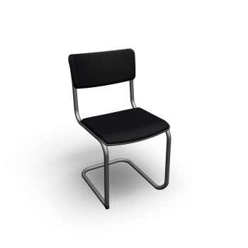 Thonet S 43 PV with armrests by Thonet
