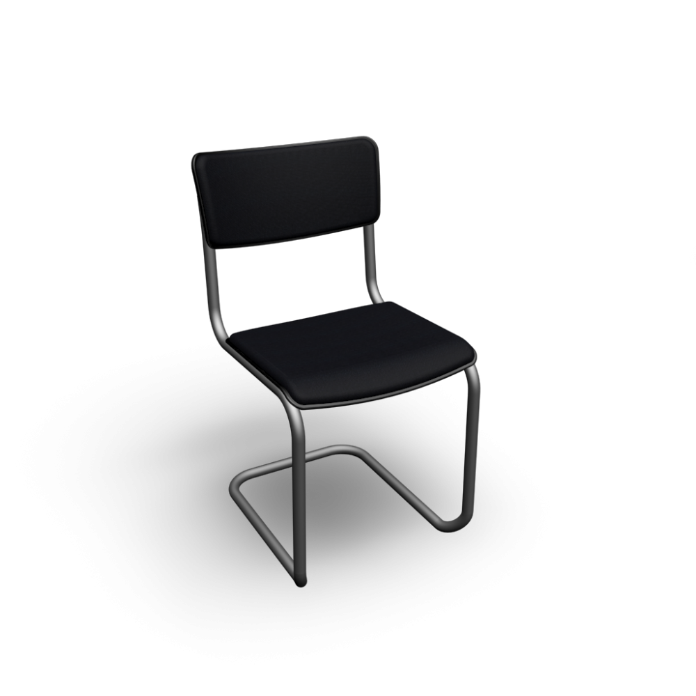 thonet s 43 pv with armrests design and decorate your room in 3d. Black Bedroom Furniture Sets. Home Design Ideas