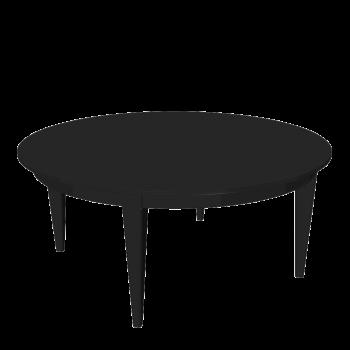 Tisch in schwarz
