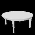 Tisch in weiß für die 3D Raumplanung