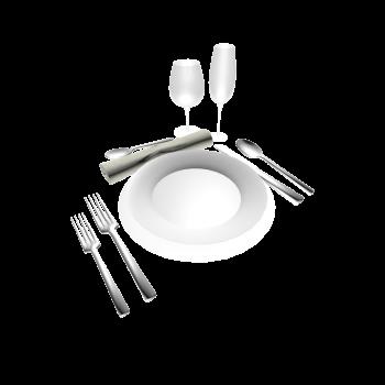 Tischgedeck