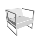Lounge Chair Casablanca for your 3d room design