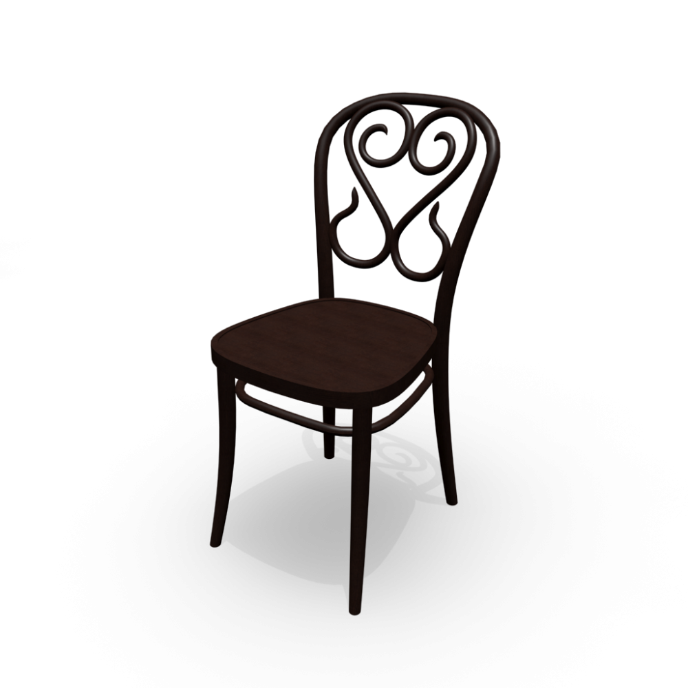 Chair no 4 design and decorate your room in 3d for Stuhl transparent design