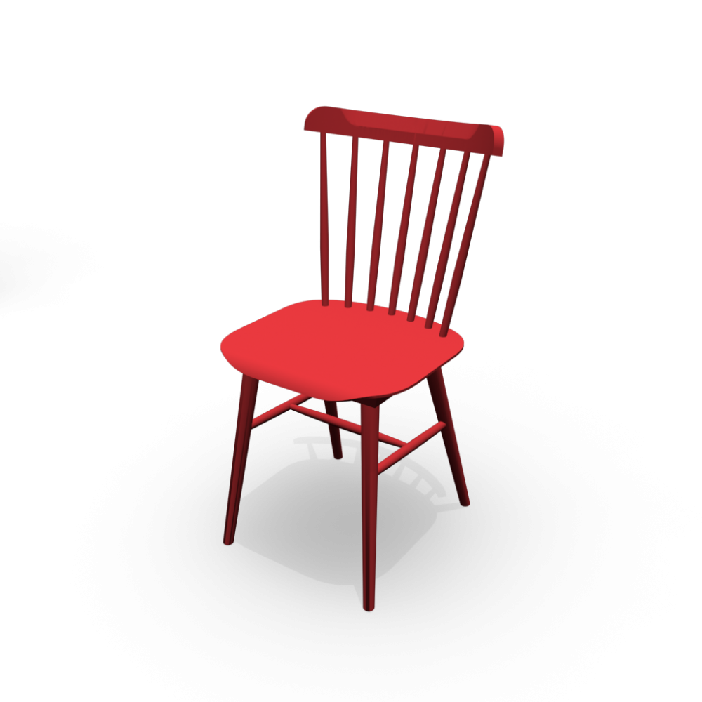 Chair Ironica Design And Decorate Your Room In 3D