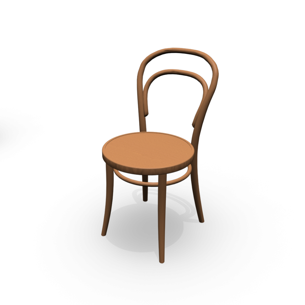 Chair no 14 design and decorate your room in 3d for Stuhl transparent design