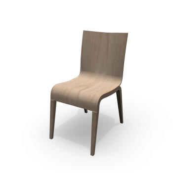 Stuhl Simple von TON