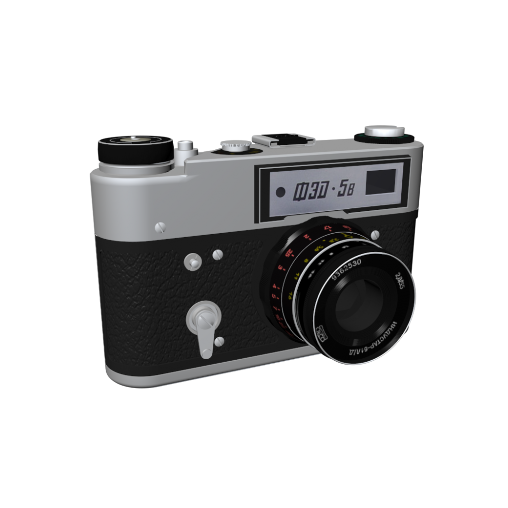 Fed 5b 35mm Rangefinder Camera Design And Decorate Your