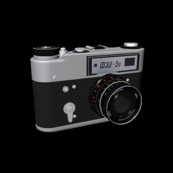 FED 5B 35mm Sucherkamera von Trudkommuna imeni F. E. Dserschinskowo