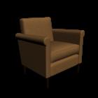 Tuscany Sessel für die 3D Raumplanung