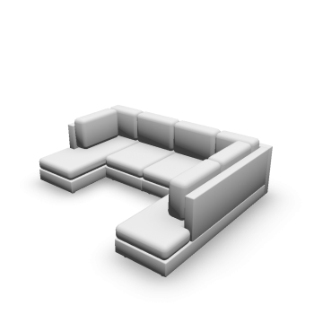 U-Form Couch
