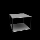 USM Haller Beistelltisch 50 für die 3D Raumplanung