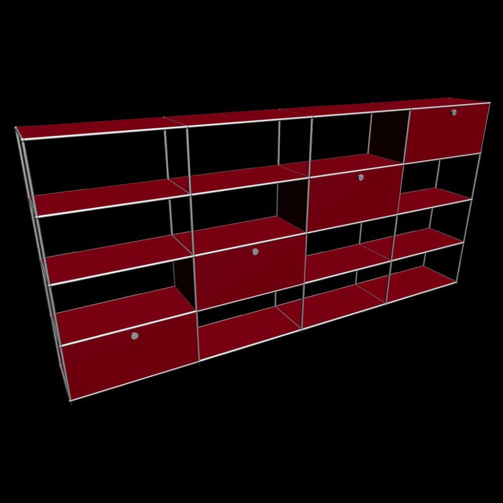 usm haller m belbausystem einrichten planen in 3d. Black Bedroom Furniture Sets. Home Design Ideas