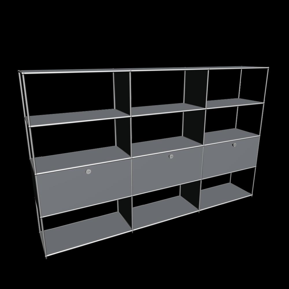 usm haller modular furniture design and decorate your room in 3d. Black Bedroom Furniture Sets. Home Design Ideas