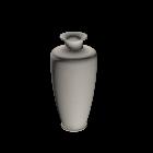 Vase für die 3D Raumplanung