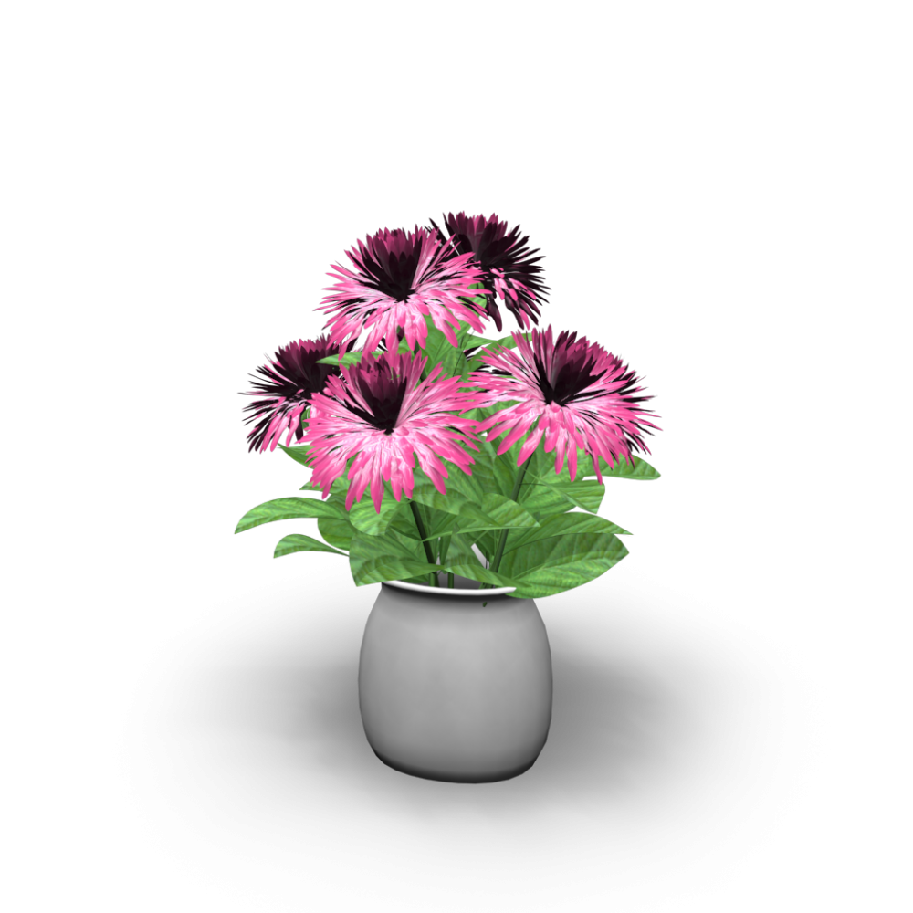 vase with flowers design and decorate your room in 3d. Black Bedroom Furniture Sets. Home Design Ideas