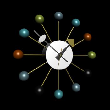Ball Uhr von Vitra