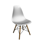 Eames Plastic Side Chair DSW by Vitra