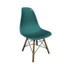 Eames Plastic Side Chair DSW for your 3d room design