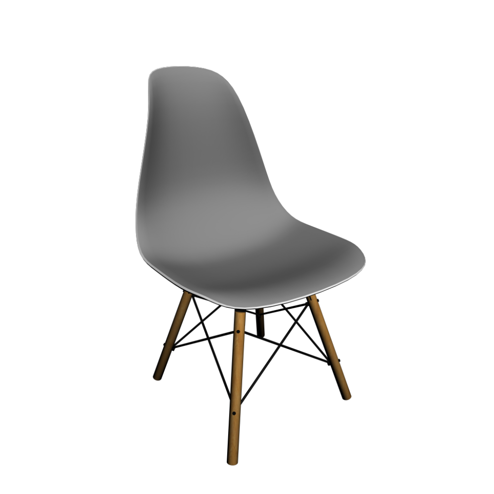 eames plastic side chair dsw with full upholstery design and decorate your room in 3d. Black Bedroom Furniture Sets. Home Design Ideas