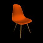 Eames Plastic Side Chair DSW für die 3D Raumplanung