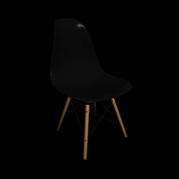 Eames Plastic Side Chair DSW von Vitra