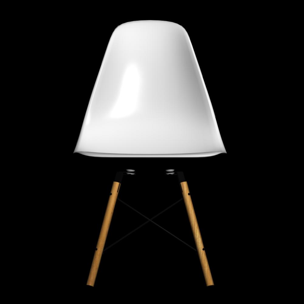 Eames Plastic Side Chair Dsw Einrichten Planen In 3d