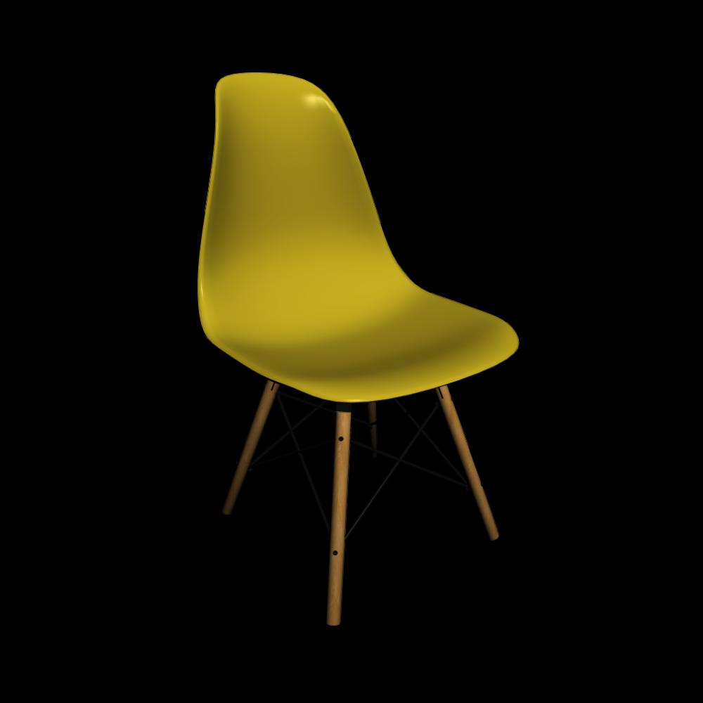 eames plastic side chair dsw einrichten planen in 3d. Black Bedroom Furniture Sets. Home Design Ideas