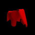 Eames Elephant classic red von Vitra
