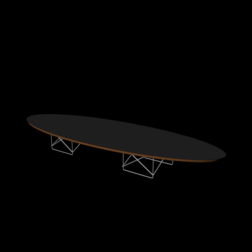 Elliptical Table ETR  Einrichten & Planen in 3D