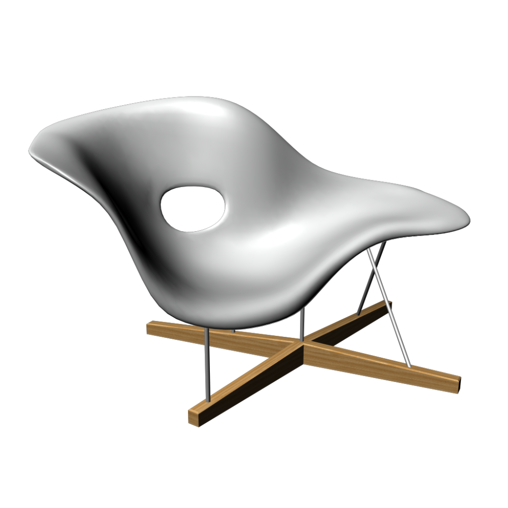 La chaise by vitra eames pinterest for Imitation chaise vitra