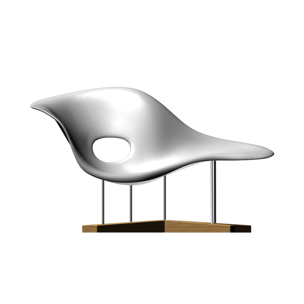 La Chaise seating sculpture by Vitra