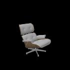 Vitra Lounge Chair für die 3D Raumplanung