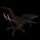 Vitra Lounge Chair Ottoman von Vitra