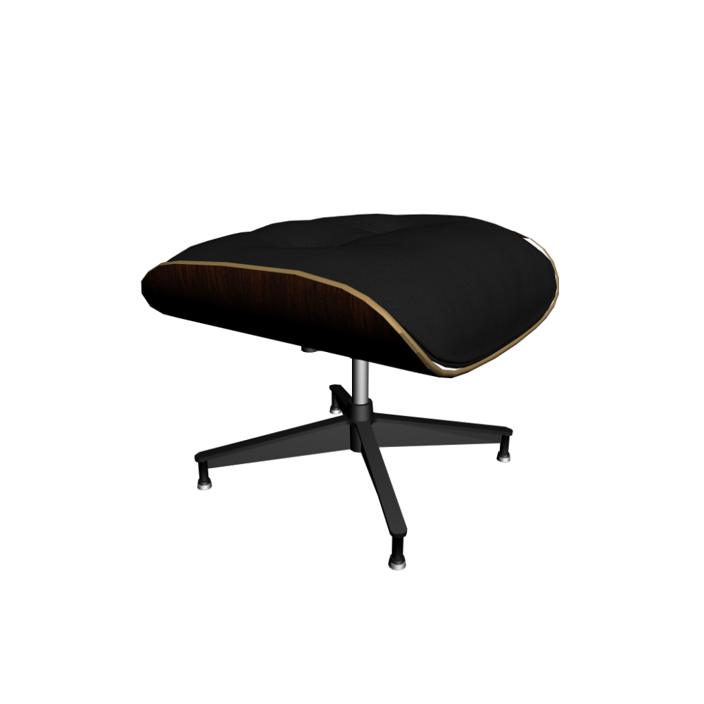 vitra lounge chair ottoman design and decorate your room in 3d. Black Bedroom Furniture Sets. Home Design Ideas